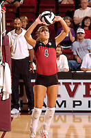 17 Sep 2005: Bryn Kehoe during Stanford's 3-0 win over UCSB at Maples Pavilion in Stanford, CA.