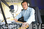 Billy  Donegan on Air for the first time as he takes ovewr John Green spot of the all Irish Show on Radio Kerry on Sunday morning.......