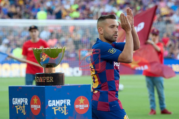 Presentation 1st team FC Barcelona 2019/2020.<br /> Jordi Alba.