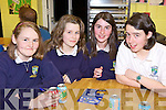 Students from Pobail scoil inbhear sce?ine Kenmare  Sadhbh Ni? Mhuircheartaigh, Cait Ni? Chonal, Ella Ni? Thuathaigh and JJ Riordan pictured at the Kerry Science Teachers Association Junior Cert Science Quiz at IT Tralee south campus on Wednesday the 25th March.