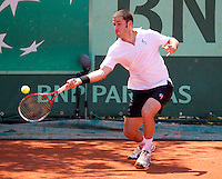 FLAVIO CIPOLLA..Tennis - Grand Slam - French Open- Roland Garros - Paris - Sat May 26th 2012..© AMN Images, 30, Cleveland Street, London, W1T 4JD.Tel - +44 20 7907 6387.mfrey@advantagemedianet.com.www.amnimages.photoshelter.com.www.advantagemedianet.com.www.tennishead.net