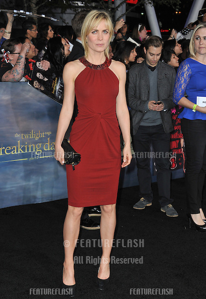"Radha Mitchell at the world premiere of ""The Twilight Saga: Breaking Dawn - Part 2"" at the Nokia Theatre LA Live..November 12, 2012  Los Angeles, CA.Picture: Paul Smith / Featureflash"
