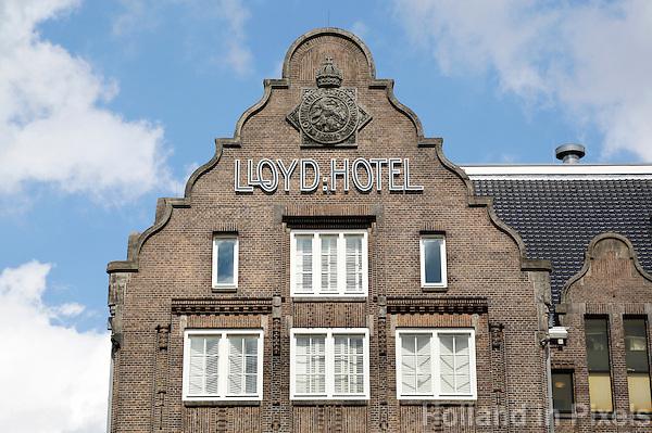 Nederland Amsterdam  2016 04 12.  Het Lloyd Hotel. Foto Berlinda van Dam / Hollandse Hoogte