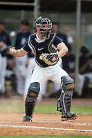 February 22, 2009:  Catcher Aaron Johnson (7) of the University of Illinois during the Big East-Big Ten Challenge at Naimoli Complex in St. Petersburg, FL.  Photo by:  Mike Janes/Four Seam Images