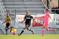 Whitney Engen (23) of the Western New York Flash. The Western New York Flash defeated Sky Blue FC 2-0 during a Women's Professional Soccer (WPS) match at Yurcak Field in Piscataway, NJ, on July 17, 2011.