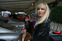 Goodwood Revival, 2007.Paddock elegance: Magdalena. The Goodwood revival is one of the largest historic car races events in the world; 3 days of racing at the highest level with some of the best pilots past and present driving historically important cars to the limit...and sometimes beyond! 110 000 spectators and participants gather in period costumes for a unique event.