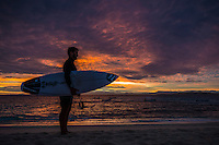 Namotu Island, Fiji (Tuesday, June 9, 2015) John Bear Cummins (AUS) Pre Dawn - A third consecutive lay day was called at the Fiji Pro today, stop No. 5 on the 2015  WSL Championship Tour, with only small and Inconsistent 2' surf surf on offer at Cloudbreak and a projected swell due to arrive later this week.<br /> the swell was expected to dip down, which it did, so competition was called off. The swell was expected to build over the next few days and provide really good conditions into the weekend.   Photo: joliphotos.com