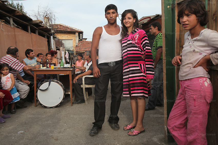 Roma Gypsies Sofia Bulgaria | Nigel Dickinson