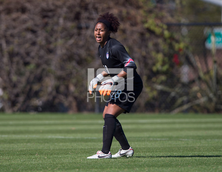Carson, CA - January 25, 2016: The U-23 USWNT defeated Ireland 3-0 at StubHub Field #4.