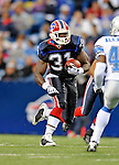 28 August 2008:  Buffalo Bills' running back Dwayne Wright (31) in action during the first quarter against the Detroit Lions at Ralph Wilson Stadium in Orchard Park, NY. The Lions defeated the Bills 14-6 in their fourth and final pre-season game...Mandatory Photo Credit: Ed Wolfstein Photo