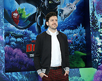 "LOS ANGELES - FEB 9:  Christopher Mintz-Plasse at the ""How To Train Your Dragon: The Hidden World""  Premiere at the Village Theater on February 9, 2019 in Westwood, CA"