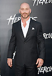 Aksel Hennie arriving at the Hercules Los Angeles Premiere held at the TCL Chinese Theatre Los Angeles, CA. July 23, 2014.