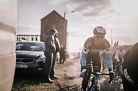 Julien Duval (FRA/AG2R-La Mondiale)<br /> <br /> 50th GP Samyn 2018<br /> Quaregnon &gt; Dour: 200km (BELGIUM)
