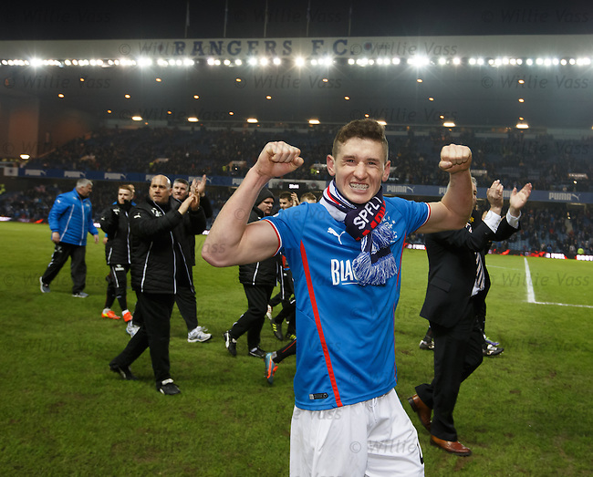 Fraser Aird gives it big licks