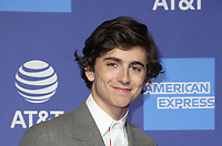 PALM SPRINGS, CA - JANUARY 3: Timothee Chalamet, at the 2019 Palm Springs International Film Festival Awards Gala at the Palm Springs Convention Center in Palm Springs, California on January 3, 2019.       <br /> CAP/MPI/FS<br /> &copy;FS/MPI/Capital Pictures