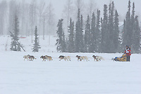 Jr. Iditarod Willow Lake  start / finish Austin Reagan