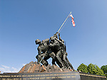 Washington DC; USA: The Iwo Jima Marine Corps War Memorial in Arlington, Virginia.Photo copyright Lee Foster Photo # 33-washdc80607