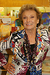 Cloris Leachman (mom to GL's Morgan Englund, 9-time Emmy Winner and star of Dancing With The Stars) signs new book Cloris - her autobiography on April 1, 2009 at Bookends, Ridgewood, NJ. The book has photos of Morgan when he was little. (Photo by Sue Coflin/Max Photos)