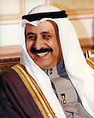 Minister of Defense Shaykh Salim al Sabah al Salim Al Sabah of the State of Kuwait is visited by United States Secretary of Defense William S. Cohen in Kuwait City, Kuwait on February 9, 1998.<br /> Mandatory Credit: Helene C. Stikkel / DoD via CNP