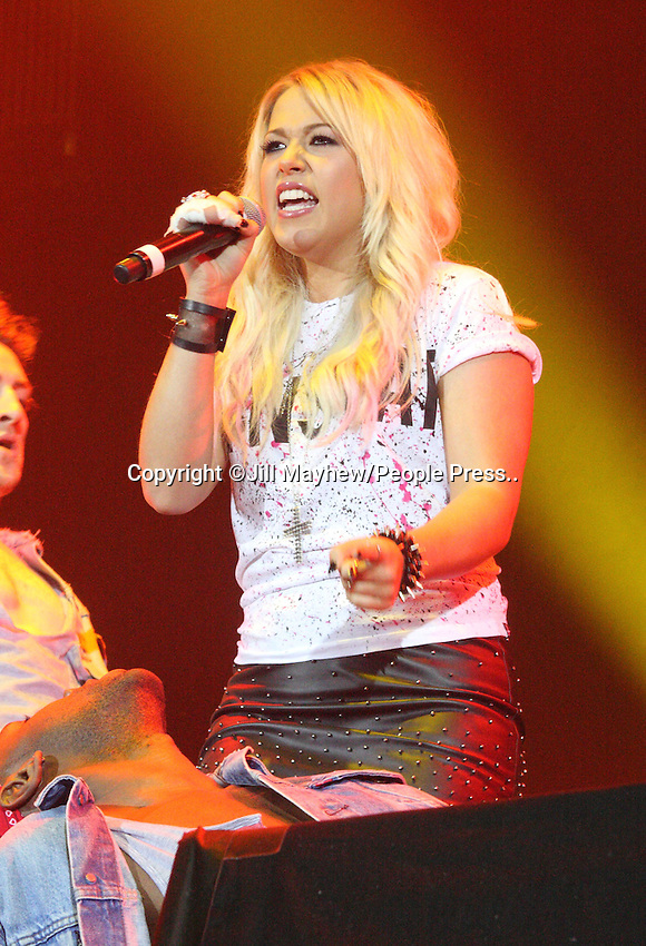 Sheffield - Girlguiding Big Gig 2012 - Amelia Lily performs at the Motorpoint Arena, Sheffield, UK - October 6th 2012..Photo by Jill Mayhew