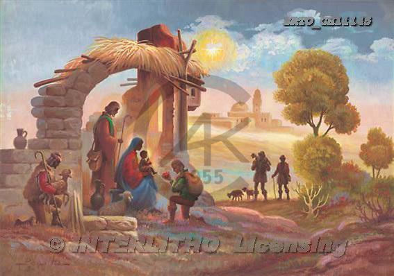 Sue Allison, HOLY FAMILIES, paintings, BRTOCH11145,#XR# Weihnachten, Navidad, illustrations, pinturas