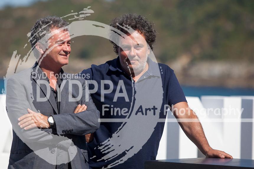 Jean-Marie Larrieu and director Arnaud Larrieu