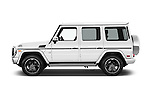 Car Driver side profile view of a 2018 Mercedes Benz G-Class G550 5 Door SUV Side View