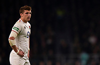 England's Henry Slade<br /> <br /> Photographer Bob Bradford/CameraSport<br /> <br /> 2018 Quilter Internationals - England v Australia - Saturday 24th November 2018 - Twickenham - London<br /> <br /> World Copyright &copy; 2018 CameraSport. All rights reserved. 43 Linden Ave. Countesthorpe. Leicester. England. LE8 5PG - Tel: +44 (0) 116 277 4147 - admin@camerasport.com - www.camerasport.com