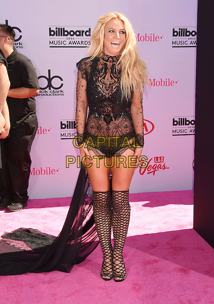 LAS VEGAS, NV - MAY 22: Singer/actress Britney Spears attends the 2016 Billboard Music Awards at T-Mobile Arena on May 22, 2016 in Las Vegas, Nevada.<br /> CAP/ROT/TM<br /> &copy;TM/ROT/Capital Pictures
