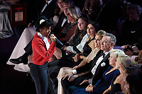 Penelope Cruz, Rita WIlson, Tom Hanks, Charlize Theron, Janelle Monae performs at The 92nd Oscars® at the Dolby® Theatre in Hollywood, CA on Sunday, February 9, 2020.<br /> *Editorial Use Only*<br /> CAP/AMPAS<br /> Supplied by Capital Pictures