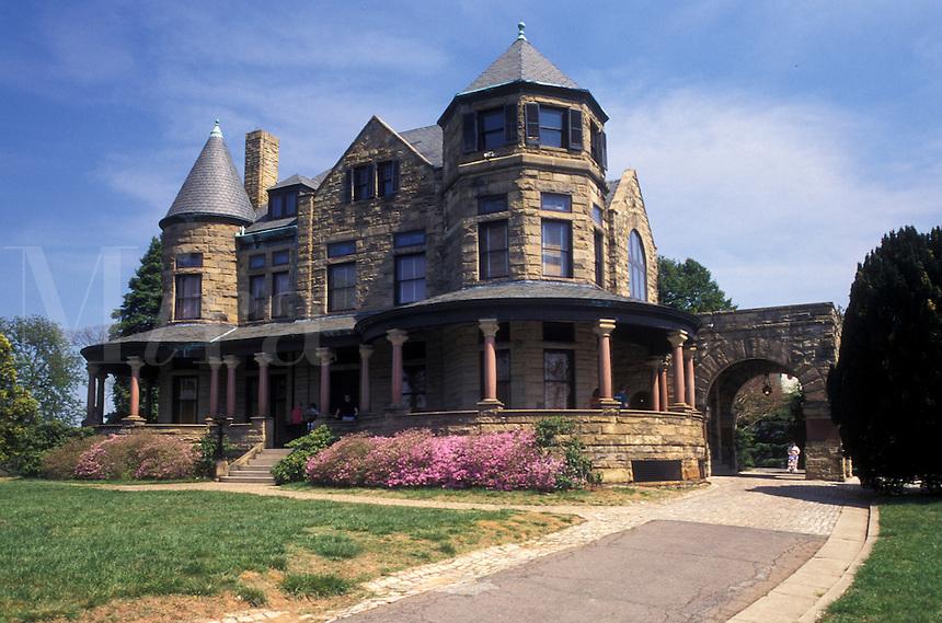 Maymont, mansion, Richmond, Virginia, VA, Maymont House a Victorian style mansion.