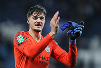 Manchester City's goalkeeper Arijanet Muric <br /> <br /> Photographer Andrew Kearns/CameraSport<br /> <br /> English League Cup - Carabao Cup Quarter Final - Leicester City v Manchester City - Tuesday 18th December 2018 - King Power Stadium - Leicester<br />  <br /> World Copyright © 2018 CameraSport. All rights reserved. 43 Linden Ave. Countesthorpe. Leicester. England. LE8 5PG - Tel: +44 (0) 116 277 4147 - admin@camerasport.com - www.camerasport.com