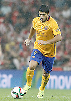 FC Barcelona's Luis Suarez during Supercup of Spain 1st match.August 14,2015. (ALTERPHOTOS/Acero)
