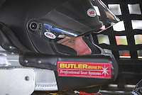 Matt Kenseth prepares to race in Tuesday night's All-Star Challenge at Madison International Speedway in Oregon, Wisconsin