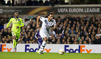 Mousa Dembele of Tottenham Hotspur in action during the UEFA Europa League Group J match between Tottenham Hotspur and R.S.C. Anderlecht at White Hart Lane, London, England on 5 November 2015. Photo by Andy Rowland.