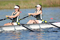Race: 74  Event: WJ15 2x  A Final<br /> <br /> Junior Sculling Regatta 2018<br /> <br /> To purchase this photo, or to see pricing information for Prints and Downloads, click the blue 'Add to Cart' button at the top-right of the page.
