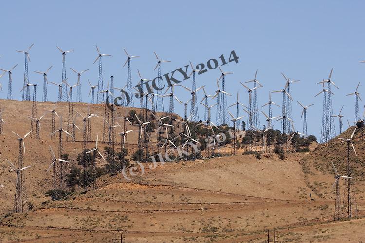 Wind farm off hwy 58