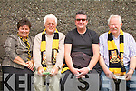 Dr Crokes supporters before the game looking forward to a good battle pictured l-r; Sheila Galvin, Malachy Walsh, Terry Potts & Pat Kenneally.....Ref Jimmy D & Jim O G