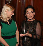 Laura Heywood and Jane Wiedlin attends 2017 Dramatists Guild Foundation Gala reception at Gotham Hall on November 6, 2017 in New York City.
