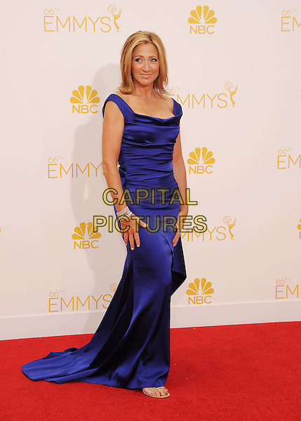 LOS ANGELES, CA- AUGUST 25: Actress Edie Falco arrives at the 66th Annual Primetime Emmy Awards at Nokia Theatre L.A. Live on August 25, 2014 in Los Angeles, California.<br /> CAP/ROT/TM<br /> &copy;Tony Michaels/Roth Stock/Capital Pictures