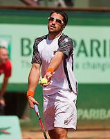 02-06-12, France, Paris, Tennis, Roland Garros, Janko Tipsarevic