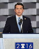 United States Representative Brendan Boyle (Democrat of Pennsylvania) makes remarks at the 2016 Democratic National Convention at the Wells Fargo Center in Philadelphia, Pennsylvania on Monday, July 25, 2016.<br /> Credit: Ron Sachs / CNP<br /> (RESTRICTION: NO New York or New Jersey Newspapers or newspapers within a 75 mile radius of New York City)
