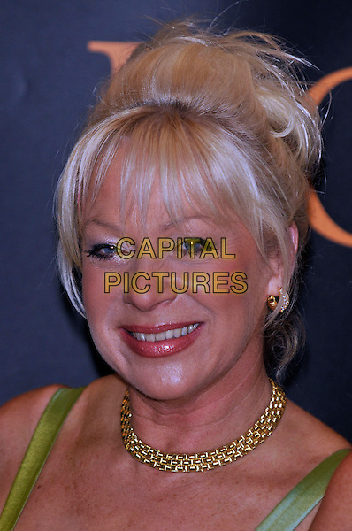 DENISE WELCH.Royal Television Society Awards,  .Grosvenor House Hotel, London, England, 19th March 2008..RTS Arrivals portrait headshot WELSH.CAP/PL.©Phil Loftus/Capital Pictures.