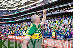 Kieran Donaghy celebrates after defeating Donegal in the GAA All Ireland Senior Football Championship final.