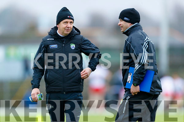 Kerry Manager Peter Keane before the Kerry v Tyrone game, in the Allianz Football League Division 1 Round 1 match between Kerry and Tyrone at Fitzgerald Stadium, Killarney on Sunday.