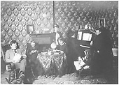 Family of D&amp;RG Espanola agent, Sam McBride, at home.<br /> D&amp;RG  Espanola, NM  circa 1910