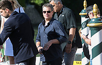 Matt Damon departs by boat during the 74th Venice Film Festival at Hotel Excelsior in Venice, Italy, on 01 September 2017. - NO WIRE SERVICE - Photo: Hubert Boesl /DPA/MediaPunch ***FOR USA ONLY***