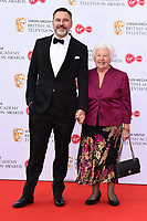 LONDON, UK. May 12, 2019: David Walliams arriving for the BAFTA TV Awards 2019 at the Royal Festival Hall, London.<br /> Picture: Steve Vas/Featureflash