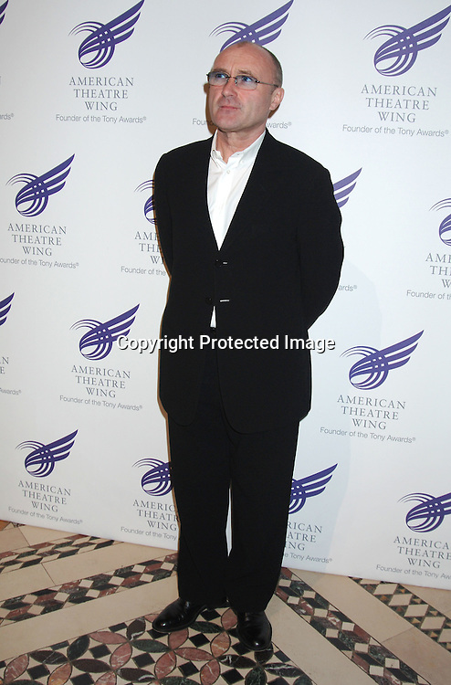 Phil Collins ..at The American Theatre Wing's Annual Spring Gala honoring Matthew Broderick and Nathan Lane on ..April 10, 2006 at Cipriani 42nd Street. ..Robin Platzer, Twin Images