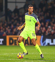 Joel Matip of liverpool during the EPL - Premier League match between Crystal Palace and Liverpool at Selhurst Park, London, England on 29 October 2016. Photo by Steve McCarthy.
